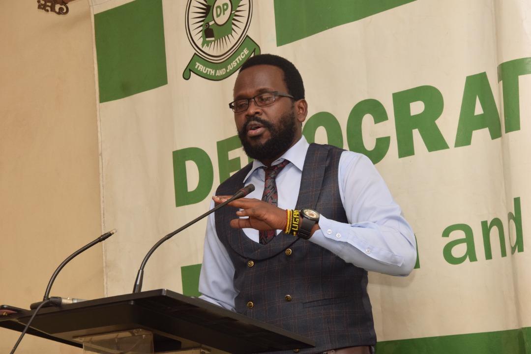 House City at presser a addressing Opio Okoler Opio